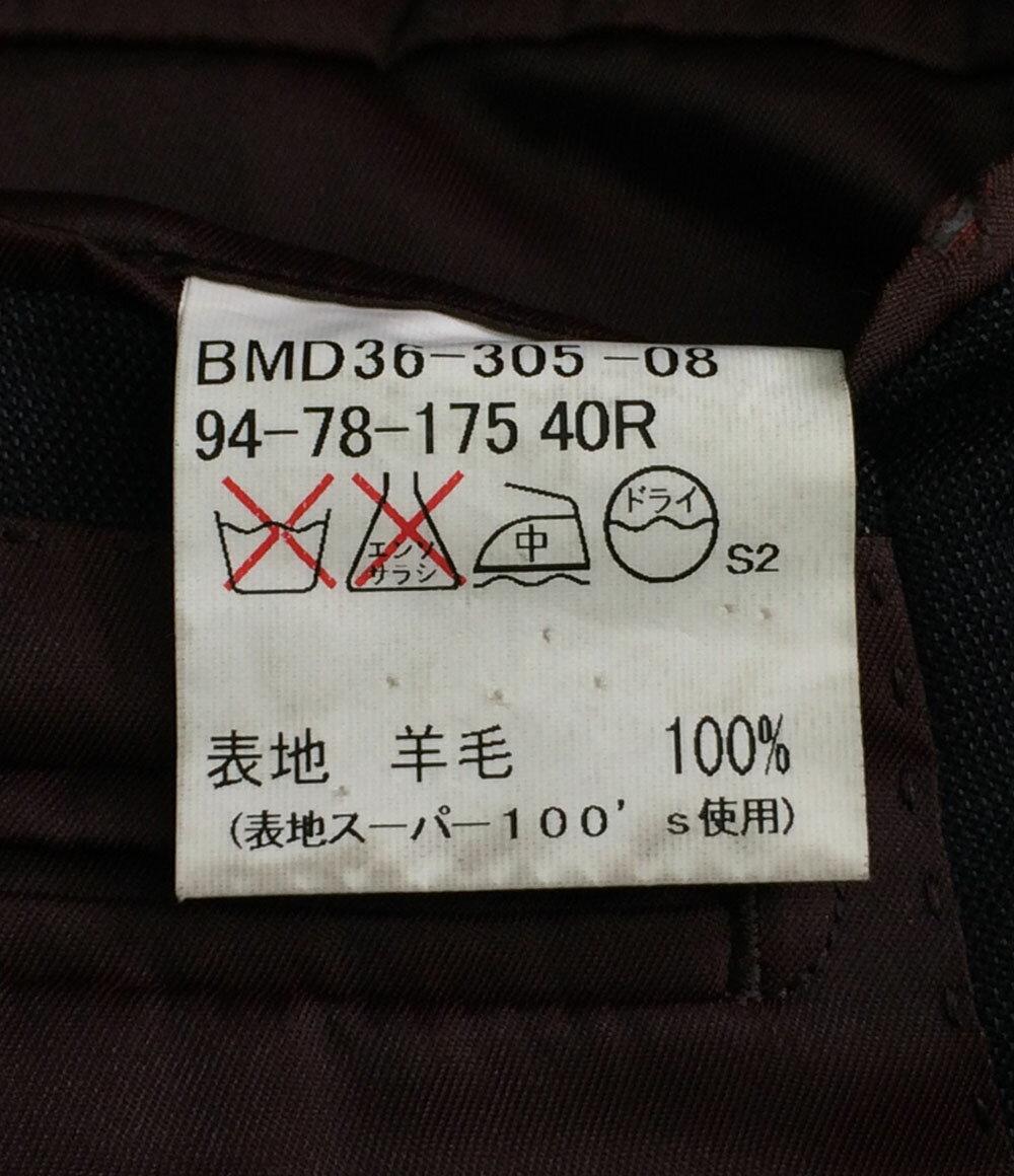 ashion 日本乐天市场 巴宝莉黑色标签大小 40R 翻译和男式羊毛西服