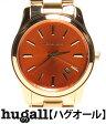 マイケルコース MK5915 クォーツ オレンジ文字盤 腕時計 MICHAEL KORS ユニセックス 【中古】