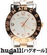 マークバイマークジェイコブス エイミー クリスタル MBM3194 SS クォーツ シルバー文字盤 腕時計 MARC by MARCJACOBS レディース 【中古】