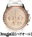 マイケルコース MK5870 クロノグラフ クォーツ ゴールド文字盤 腕時計 MICHAEL KORS ユニセックス 【中古】