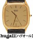 セイコー ドルチェ 9521-5190 SS K14 クォーツ ゴールド文字盤 腕時計 SEIKO メンズ 【中古】
