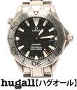 オメガ シーマスター プロフェッショナル 手巻き ブラック文字盤 腕時計 OMEGA メンズ 【中古】