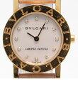 ブルガリ BB26GL ブルガリブルガリ 12Pダイヤ クオーツ 腕時計 Bvlgari レディース 【中古】