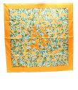 エルメス カレ90 シルクスカーフ L ARBRE de SOiE 絹の木 HERMES レディース 【中古】