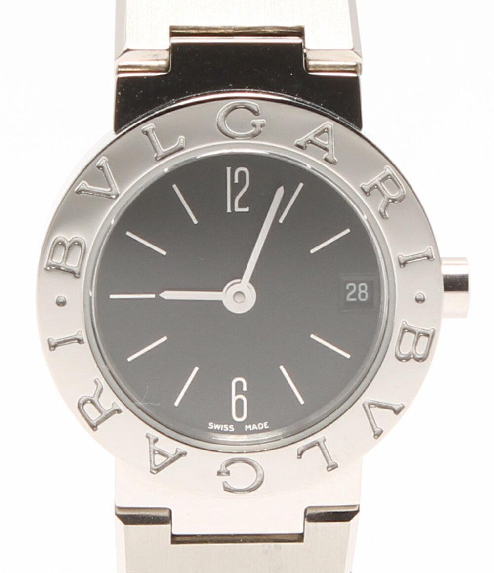 ブルガリ ブルガリブルガリ 腕時計 BB23 SS クォーツ ブラック Bvlgari レディース 【】 sale【0417】【送料無料】【ショップオブザイヤー2016受賞】