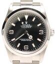 美品 ロレックス 腕時計 エクスプローラー1 114270 自動巻き ブラック ROLEX メンズ 【中古】