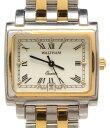 【4/5限定ポイント10倍】【中古】訳あり ウォルサム 腕時計 クオーツ ホワイト 65420.30 メンズ WALTHAM