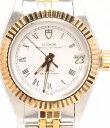 【中古】チュードル 腕時計 自動巻き ホワイト レディース TUDOR