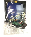 【中古】 10th アニバーサリー SANTA JACK & SLEIGH ディズニー TIM BURTONS NIGHTMARE BEFORE CHRISTMAS フィギュア