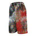 HXB Graphic Mesh Pants 【CMYK DOTS(BIG DOT)】 バスケットボールパンツ バスパン バスケショーツ バスケ バスケットボー...