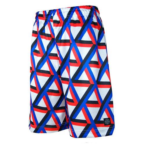 HXB バスパン【Graphic Mesh Pants】3D バスケットボールパンツ バスパン バスケショーツ バスケ バスケットボール
