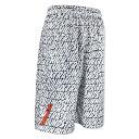 HXB Graphic Mesh Pants【OVERLAID】 WHITE / ホワイトRAGELOW バスケットボールパンツ バスパン