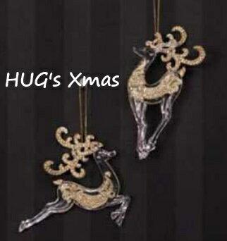HUGLuxeセレクトクリスマスオーナメントトナカイオーナメント4927おもちゃ・ホビー・ゲームパー
