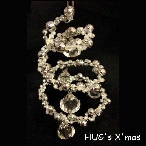 HUGLuxeセレクトクリスマスオーナメントスパイラルオーナメント3842おもちゃ・ホビー・ゲームパ