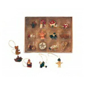 HUGLuxeセレクトクリスマスクリスマスウッドミニオーナメント6340おもちゃ・ホビー・ゲームパー