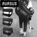 RURSUS メッセンジャー C-0196 【メッセンジャーパック メンズ バッグ 自転車 肩掛け 斜めがけ ショルダーバッグ ナイロン】【20P27May16】