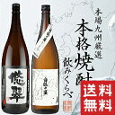 九州限定販売酒2本セット 悠翠・白狐の宴 2本飲み比べ ※全...