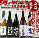焼酎専門店自慢の飲み比べセット 送料無料 「1万円セット」 (徹宵・櫂かい・悠翠