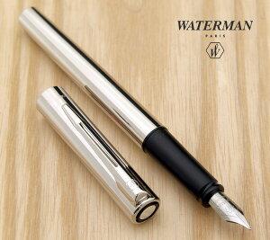 【WATERMAN/ウォーターマン】入手困難!生産終了日本未発売Graduate/グラデュエートクローム万年筆