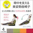 背筋が自然に伸びる!背中を支える美姿勢座椅子CBC-313 42段階 リクライニング チェアー コンパクト 座いす 座イス イス 椅子 チェア 日本製