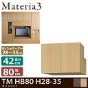 Home Decor, Bedding, Shelves - Materia3 TM D42 HB80 H28-35 【奥行42cm】 梁避けBOX 幅80cm 高さ28〜35cm(1cm単位オーダー)