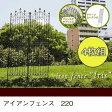 ガーデニング フェンス アイアンフェンス アイアンフェンス220() 4枚組 DNF220-4P 簡単設置 ガーデンフェンス アイアン 柵 庭 園芸 エクステリア クラシック・アンティーク調 シンプル ハイフェンス 送料無料 新生活 引越