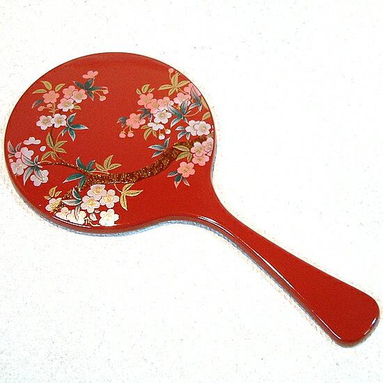 京都のおみやげ(京土産)和風雑貨・贈り物丸手鏡 ...の商品画像