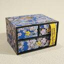 京都のおみやげ(京土産)和風雑貨・贈り物二段三ツ引きタンス