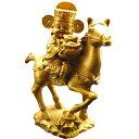 風水グッズ 銅製 招財馬上財神 神仏 縁起物 風水 置物