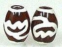 世界中で人気!!神の霊石、チベット天珠です。蓮花天珠(小)(1個)