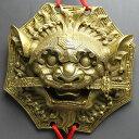 風水グッズ 中国結 銅製 八卦 避邪 獅子牌 風水 開運