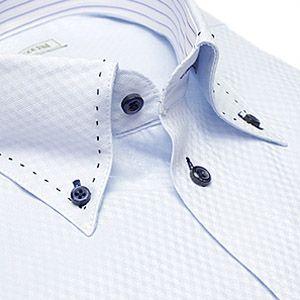 デザイン ワイシャツ ヒューズ ビジネス ステッチ