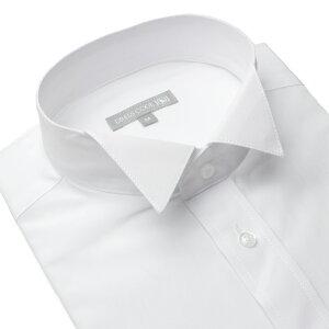 ウィングカラーシャツ パーティー ワイシャツ フォーマル ヒューズ ウイング ウィングカラー