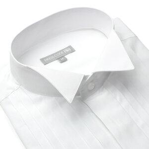 ウイングカラーシャツ ワイシャツ フォーマル ヒューズ ウイング ウィング