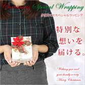 クリスマス限定 Xmas 特別包装 ギフトラッピングサービス クリスマス [贈り物 プレゼント 手渡し 誕生日 お祝い おしゃれ かわいい]【メッセージカード付き】