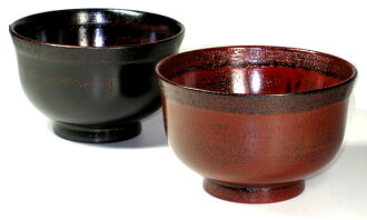 65% Off wooden dipping Fuchi cloth negoro, Akebono pair (juice Bowl, Bowl) 10P02jun13 10P01Sep13