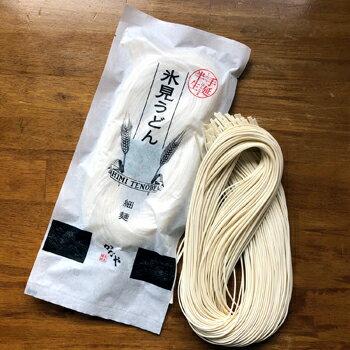 かなや麺業:受注生産の天日干し「半生氷見うどん(細麺)」6袋入り 12人前