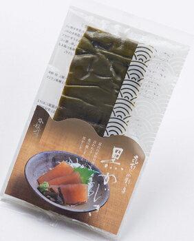かねみつ 昆布じめ刺し身 黒かじき(100g×3パック)富山名物(クール冷凍便)