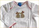 【アルベッタ】綿ニット製ベビー服*カバーオール ベビードレス ベビー服 パッチワーク*出産祝いやギフトにもどうぞ【楽ギフ_のし宛書】【楽ギフ_メッセ入力】