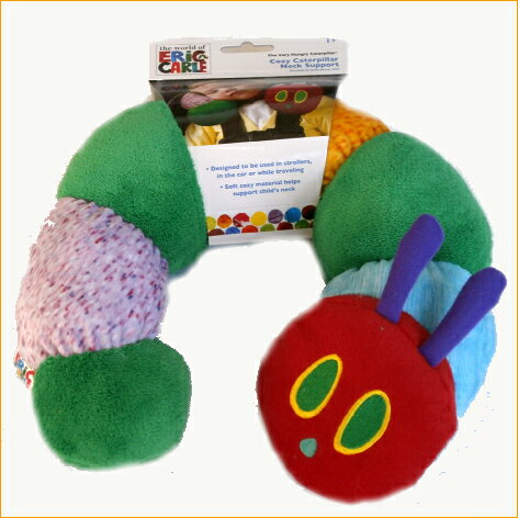 はらぺこあおむしサポートピローベビー枕ぬいぐるみエリックカールおもちゃベビートイ布製おもちゃ人形出産