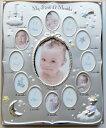 フォトフレーム フォトアルバム アルバム ベビー 写真立て メモリアルグッズ 記念写真 12ヶ月のフレーム*出産祝いやギフトにもどうぞ=ベビー用品