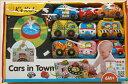カーズインタウン 自動車おもちゃ 知育玩具 ケーズキッズのおもちゃ 自動車 救急車 消防車 車 運転 出産祝い ギフト