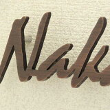 表札【】職人の技シリーズ真鍮・銅製厚さ5mmアンティーク風切文字表札「Regular」