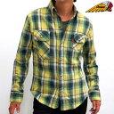 厚手 ネルシャツ メンズ Indian Motocycle インディアンモトサイクル IS-605【あす楽対応】【H-SH】■03150909【in20】