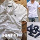 USA購入 エアロポステール ポロシャツ S刺繍 メンズ AEROPOSTALE 6027-4289-102■02170505【170701s】