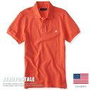 USA購入 エアロポステール ポロシャツ S刺繍 メンズ AEROPOSTALE 鹿の子 6027-7907-823■02170614