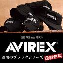 AVIREX 限定モデル ブラックシリーズ アビレックス 帽子 キャップ メッシュキャップ ハンチン...