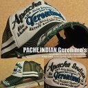 APACHE INDIAN Geronimo 039 s 7683-911 クラッシュ加工 メッシュキャップ キャップ 帽子 メンズ 刺繍 GAZ 180614