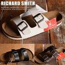 RICHARD SMITH PU レザー ダブルベルト カジュアル サンダル メンズ 7962 Y_KO 180530