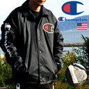 ショッピング送料込 裏ボア ジャケット メンズ チャンピオン CHAMPION 送料無料 ブランド コーチジャケット メンズ ブルゾン ジャンバー 上着 アウター おしゃれ 防寒 暖かい アウター ストリート アメカジ CL-V3699 ブラック 黒 191103
